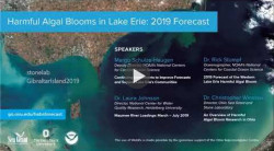 ICYMI: Lake Erie algal bloom forecast from Stone Lab