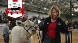 CFAES Dean Cathann A. Kress: About the Charity Steer Show