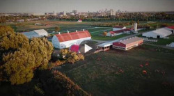 Take a drone's eye tour of the Waterman farm