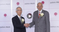 Rattan Lal 'honored, privileged' by Japan Prize (comments at 8:48)