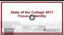 CFAES State of the College Address 2017