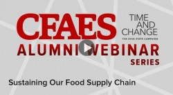 The present and future of food supply chains