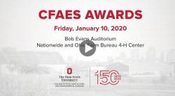 2020 CFAES awards